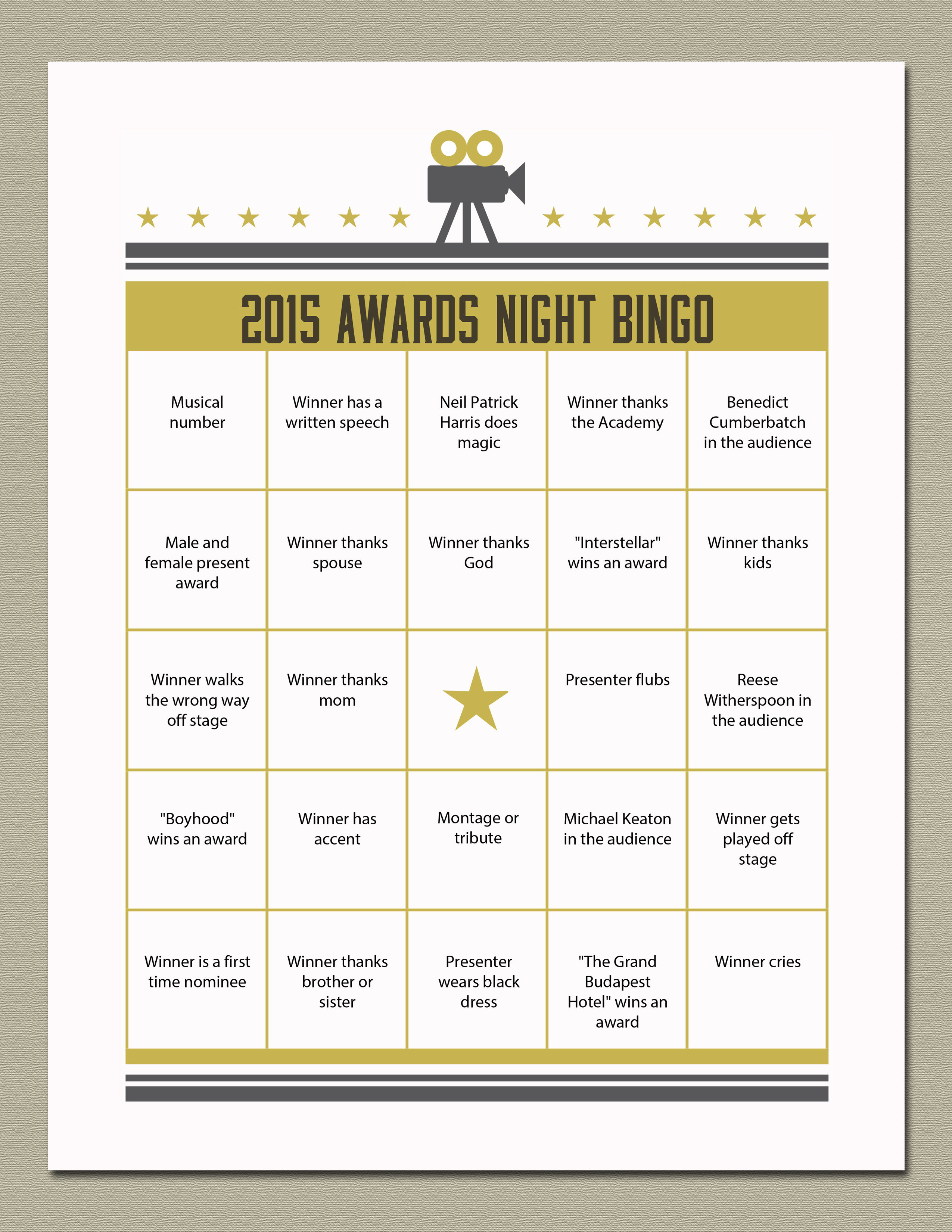 Wel e Adulthood Free Printable Graduation Cards likewise Voting Ballot Template likewise Tony Awards Ballot Printable in addition Printable Ballot For 2015 Oscars in addition Pot Luck. on oscar party 2016 ballot